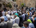 Muslims protest against new Israeli security measures in Jerusalem